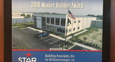 STAR Building Systems 2018 Master Builder Award