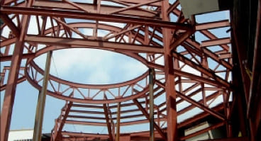 Example of Steel Structure Build Project